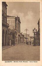 333) MACERATA BARRIERA PORTA ROMANA CORSO CAVOUR, ANIMATA. VG IL 25/7/1937.