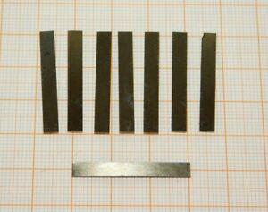 Federstahl 3,0x0,12x4,0 Flachstahl RC Modellbau Bahn Blattfedern Metall Federn