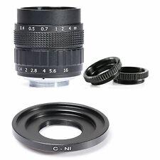 Fujian 50mm f1.4 CCTV Lens for Nikon 1 V1 V2 J1 J2 J3 S1 J4 with Adapter(C-N1)