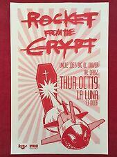 ROCKET FROM THE CRYPT Original Concert Poster Gig Flyer Portland