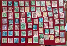 Denmark - Danish stamps from old album - used