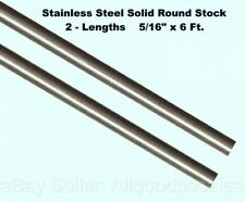 17-4 Stainless Steel Round Rod 2 inch x 24 inches 2.000