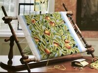 APPLES CUSHION TAPESTRY NEEDLEPOINT CHART - BETH RUSSELL