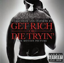 GET RICH OR DIE TRYIN' - MUSIC FROM AND INSPIRED BY THE MOTION PICTURE / CD