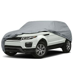 Ultimate HD 5 Layer Waterproof Full SUV Car Cover for 2006 Land Rover Freelander