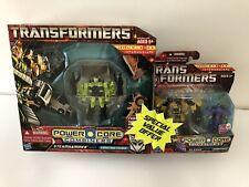 Transformers Power Core Combiners Steamhammer & Sledge Bonus Set New