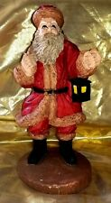 Vintage Ceramic Santa Clause & bag of toys Figurine Christmas Classic Hand Paint