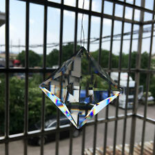 70MM Decor Suncatcher Art Crystal Glass Prism Chandelier Pendant Party Ornament