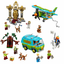 SCOOBY DOO The mystery machine 541 Pcs Lego 75902 Blocks Toys For Children