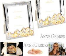ANNE GEDDES CERTIFICADO MARCO DE FOTOS Cm.9x13 MADERA e ARGENTO 925% art.300G