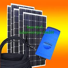 650watt installation solaire avec solarpanele, onduleur, hausanlage pour prise