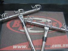 Pair - 3 Way Rod Holders - Stainless Steel -