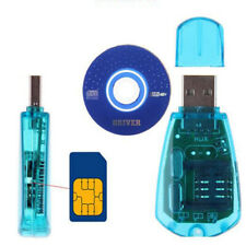 USB Cellphone SIM Card Reader Copy Cloner Writer SMS Backup CDMA+CD/GSM