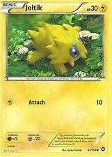 POKEMON XY STEAM SIEGE CARD - JOLTIK 41/114