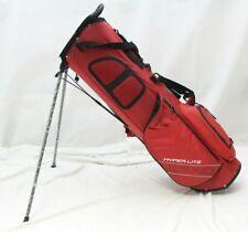 New Callaway Hyper Lite Zero DBL 4-Way Stand Carry Golf Bag - Red