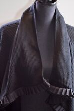 Catherine Malandrino Women's Open Front Cardigan Sz Large Sweater Cashmere Blend