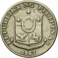 [#548117] Coin, Philippines, 25 Sentimos, 1967, EF(40-45), Copper-Nickel-Zinc