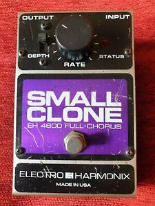 Electro Harmonix Small Clone EH 4600 Chorus Pedal