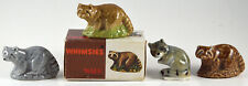 WADE RACCOONS, WHIMISES. RED ROSE TEA. TOM SMITH PARTY CRACKERS, 1958-1998