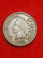 1863 Philadelphia Mint Indian Head Penny #27