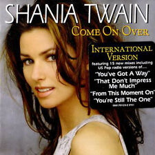 "Shania Twain ""Come on Over"" International CD  *NEW* + FREE GIFT"