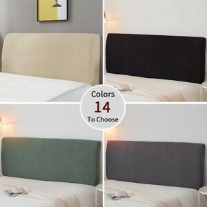 Elastic Bed Head Cover Head Back Protection Headboard Dust Cover Bedroom Decor