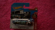 Hot Wheels - UK Card - #109 '55 Chevy Bel Air Gasser - Metallic Blue