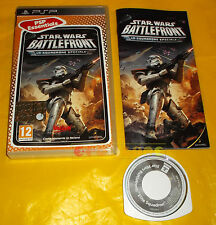 STAR WARS BATTLEFRONT LO SQUADRONE SPECIALE Psp Italiano Essentials ○ COMPLETO