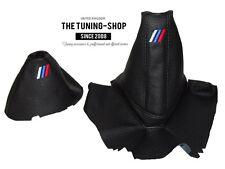 For Bmw Z4 E85 E86 Automatic Gear & Handbrake Gaiter Black Leather M3 Embroidery