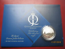 ALDERNEY 2012 £ 5 Silver Proof Coin Queen's Diamond Jubilee-Ouverture du Parlement