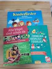 3 Bücher Kinderbuch Kinder Lieder neuwertig Liederbuch Singen