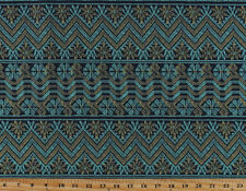 Amy Butler Cosmo Weave Midnight (5 Parallel Stripes) Cotton Fabric Print D302.22
