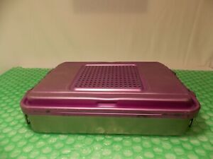 GENESIS SOLID V. MUELLER CD2-4C PURPLE, STERILIZATION CONTAINER