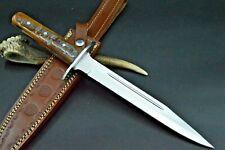 XXL Widderhorn Bowie Messer 440er Stahl Jagdmesser Taschenmesser Damstmesser 193