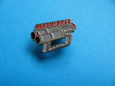Police / Military FLASH BALL Gun, Pin Badge. VGC. Rubber Bullets.