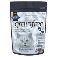 V.I.P. Fussy Cat Grain Free Chicken & Turkey with Cranberry Dry Cat Food 500g