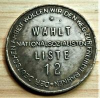 GERMAN COLLECTORS COIN AHITLER R.MARK.