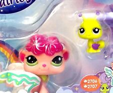 Littlest Pet Shop Shimmering Sky Fairy Sea Breeze #2706 & an Ant  #2707 New
