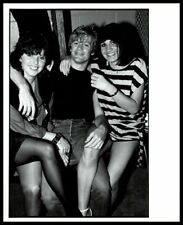 1980s Bryan Adams & Lady Fans Vintage Original Photo Canadian Rocker Producer gp