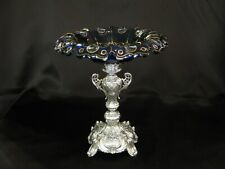 Antique silver German center piece