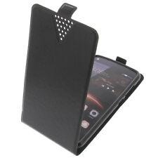 CUSTODIA PER HUAWEI Y5 II Custodia Cellulare modello Flip custodia nera