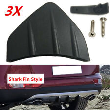3x Promotion Car Rear Bumper Diffuser Scratch Protector Molding Trim Matte Black