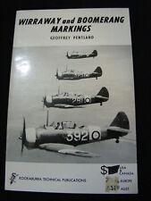 Wirraway & Boomerang Markings WW 2 Aircraft Pentland Series 3 No 2