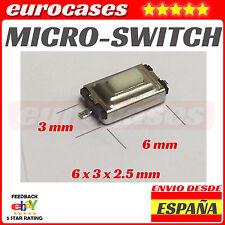 SW7 Pulsador 3 * 6 * 2.5 mm Smd botón interruptor Microswitch peugeot citroen