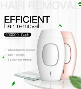 Epilator laser hair removal IPL 600000 flash professional permanent women