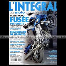 L'INTEGRAL N°13 YAMAHA FZS 1000 FAZER HONDA GL 1800 GOLDWING BMW K 1200 LT 2001