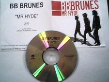 "BB BRUNES  - CD SINGLE PROMO ""TEST-PRESSING"" ""MR HYDE"""