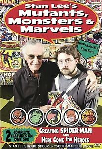 Stan Lee's Mutants Monsters and Marvels DVD 2002 NEW Sealed
