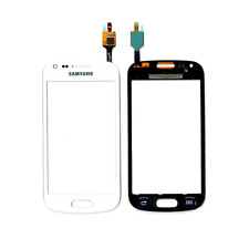 TOUCH SCREEN DISPLAY VETRO BIANCO SAMSUNG GALAXY GT S7580 TREND PLUS WHITE