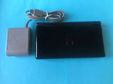 """New listing Nintendo Ds Lite Black Onyx Handheld system, w/Wall Charger and """"Free Shipping"""""""